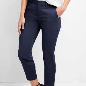 GAP Dark Blue Slim Cropped Pants 4 R